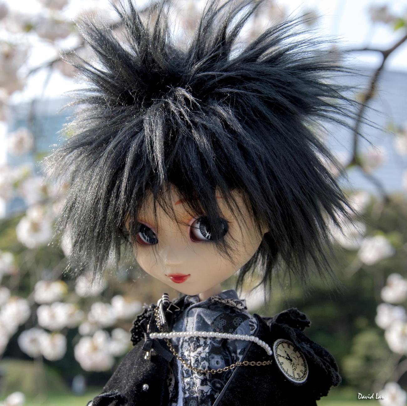 Cherry Blossom II Doll Sq copie