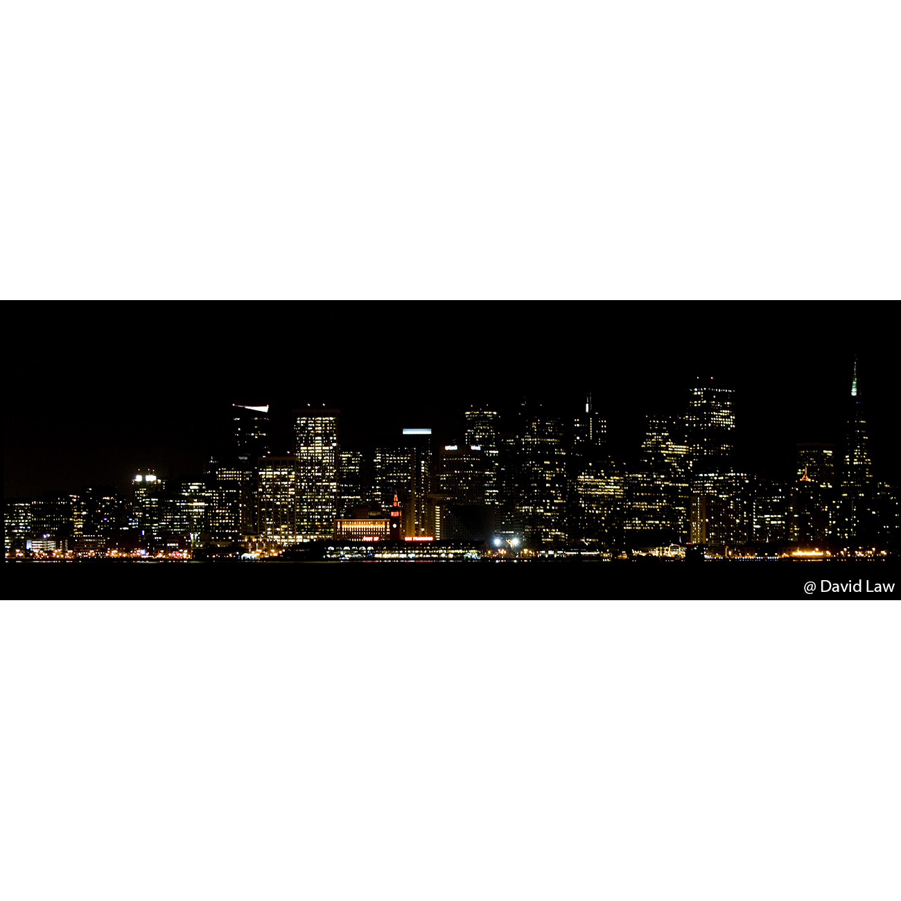 San Franciso by Night 30×90