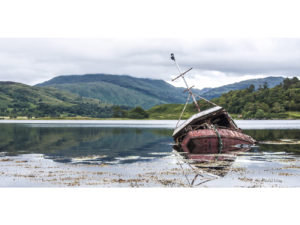 The Lost Boat II 40×80
