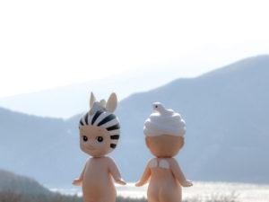 Hakone View 30X30 copie