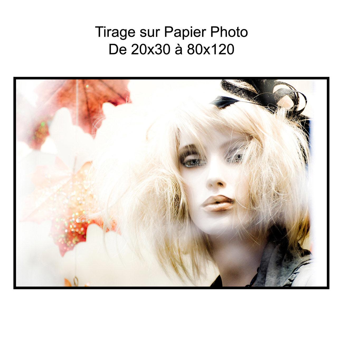 Tirage sur Papier photo carree