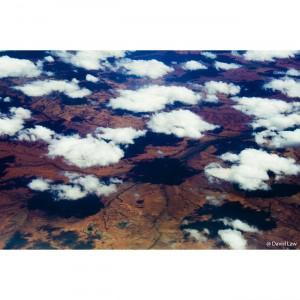 Australie Bush vue du ciel copie