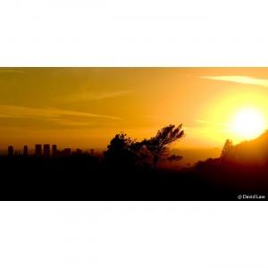Los Angeles Sunset 40x80 copie