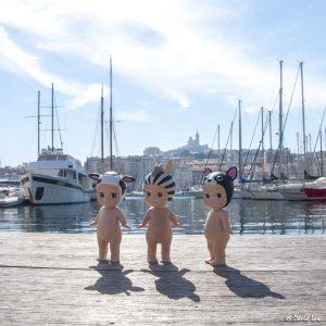 Marseille le Port 30X30 l copie