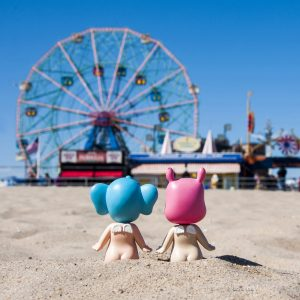 Coney Island Baby II 30x30 copie
