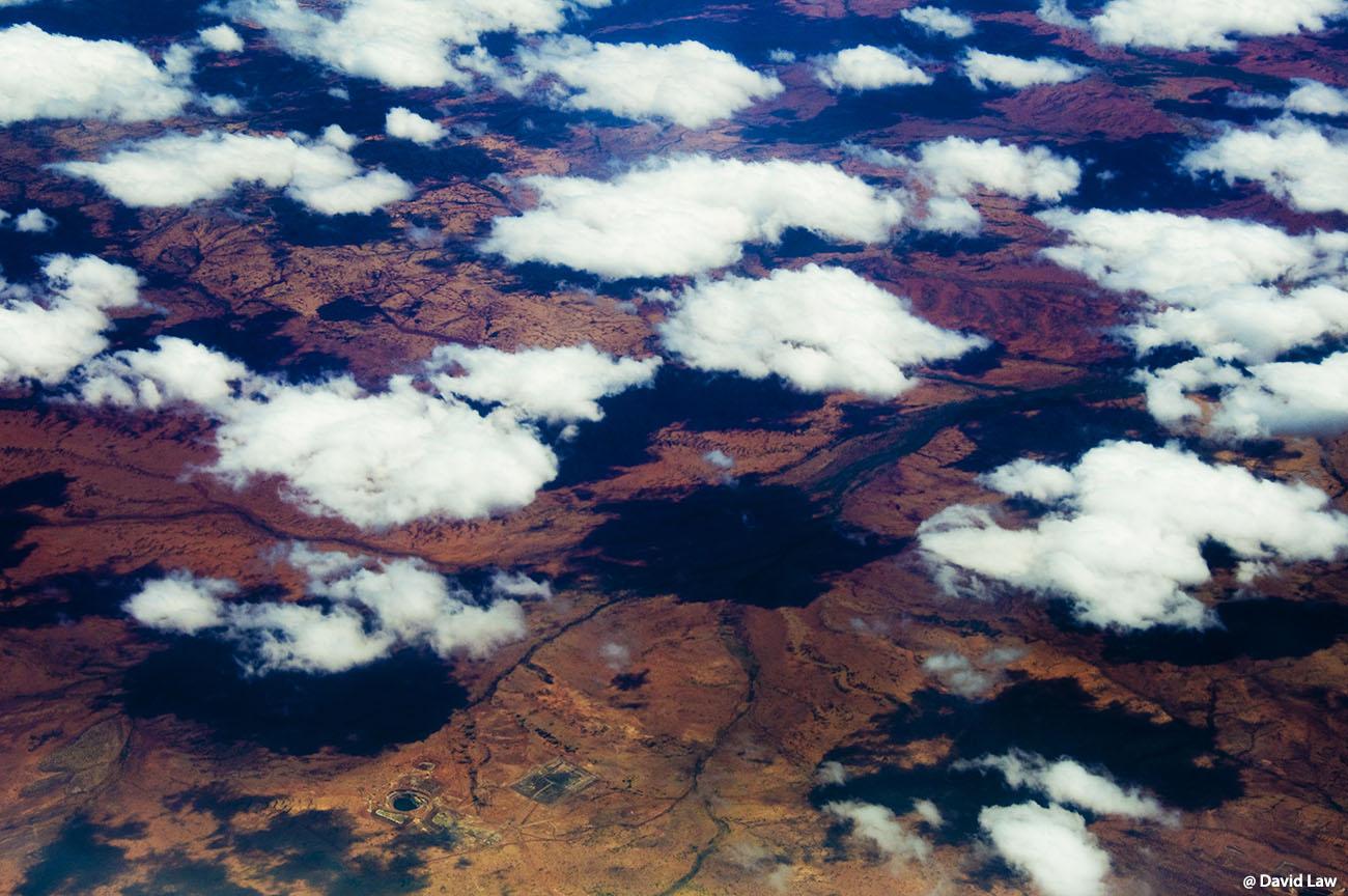 Australie Bush vue du ciel