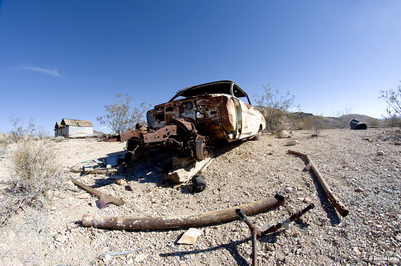 Car in Ghost Town II