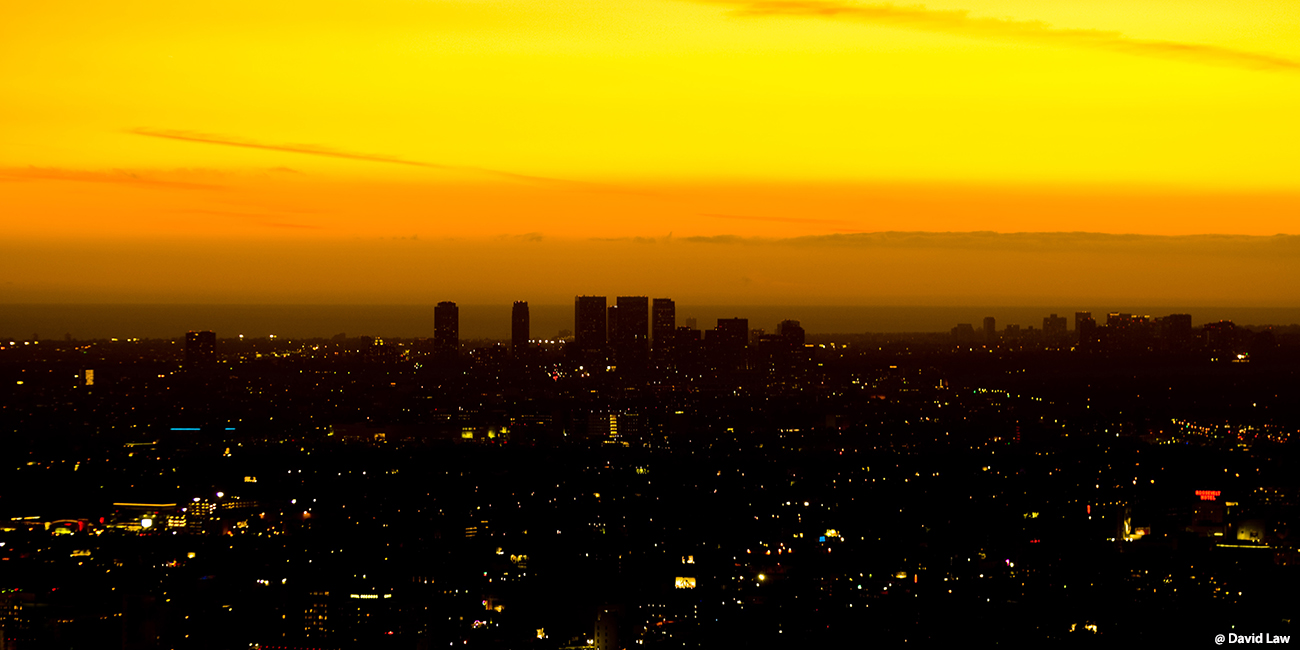 Los Angeles Sunset II 40x80 1