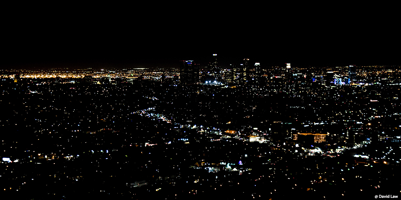 Night On Los Angeles 40x80 1