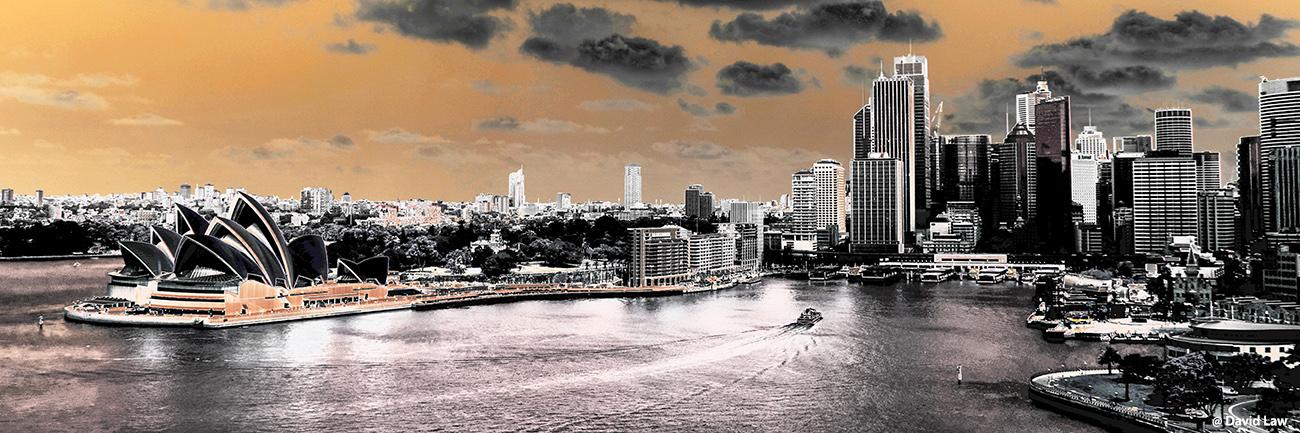 Opera Sydney panoramik Radio effect 30X90 1